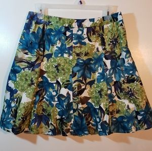 George Brand floral skirt